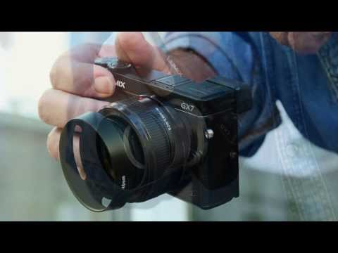 A Review And Look At The Panasonic Lumix GX7 Micro Four thirds Camera