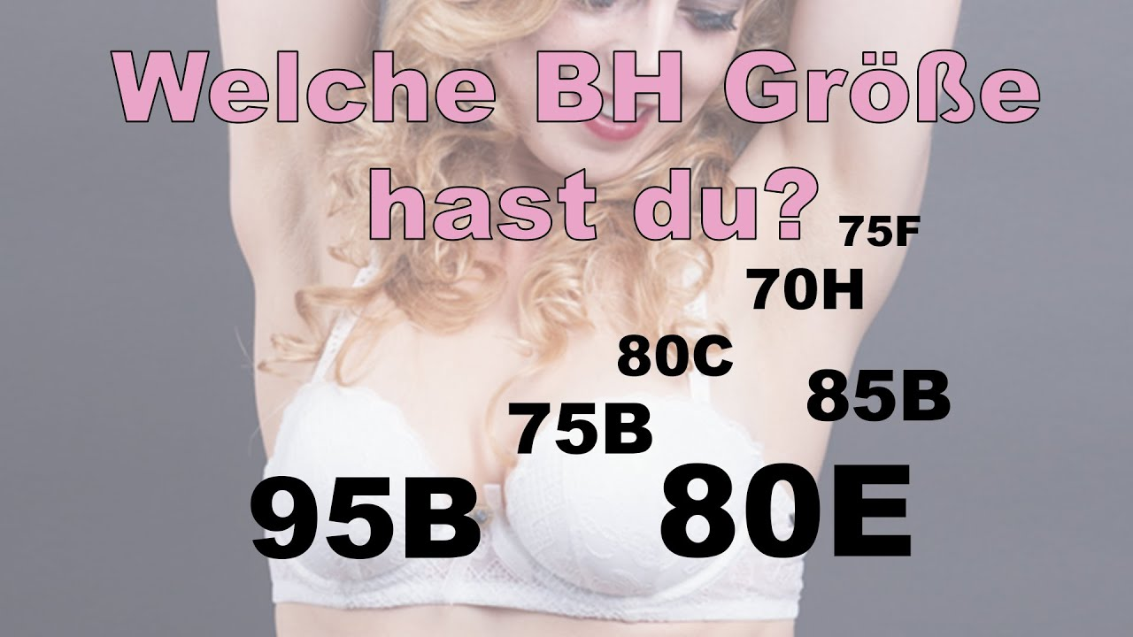 Bh größe dd Bra sizes