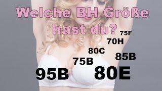 BH Größe ermitteln - Das 1x1 der BH Größen