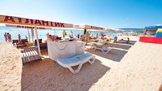 Феодосия видео пляжей(Пляж Атлантик на Черноморской набережной в Феодосии. Фото, видео и описания всех пляжей Феодосии можно..., 2016-11-12T05:13:28.000Z)