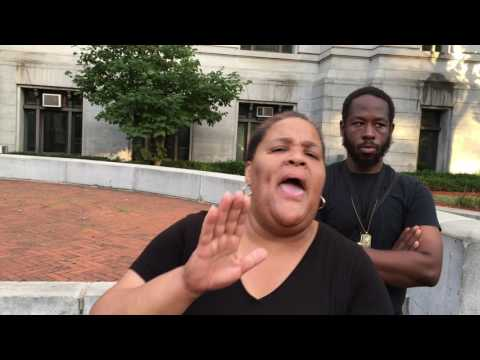 """Donna Jackson Community Press Conference """"High Crime & No Response from Newark Elected Officials."""
