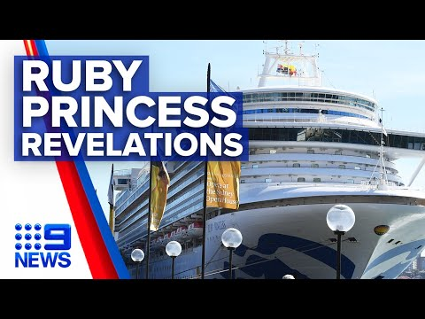Coronavirus: Ruby Princess cruise ship blamed for NSW spike   Nine News Australia