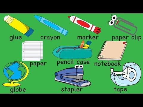 School Supplies Song Part 2