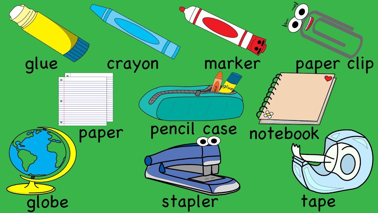 School Supplies Song Part 2  Youtube