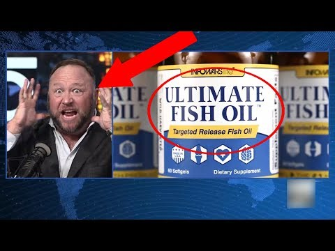 Alex Jones Loves Fish Oil