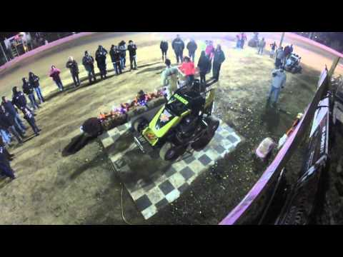 Brian Carber National Open Victory Lane @ Linda's Speedway