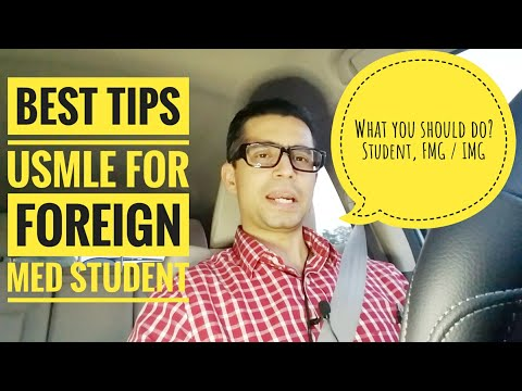 Best USMLE TIPS for Foreign Medical Student / FMG / IMG!