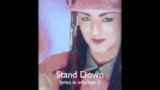 Watch Boy George Stand Down video