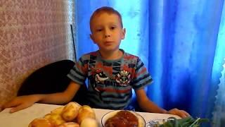 Вкусная Картошка с тушенкой.  Potatoes with stewed meat