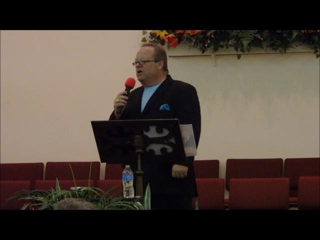 """When He was on the Cross (I was on His Mind)"" by Bob Hadley - Westside Baptist, Daytona, FL 11/4/16"