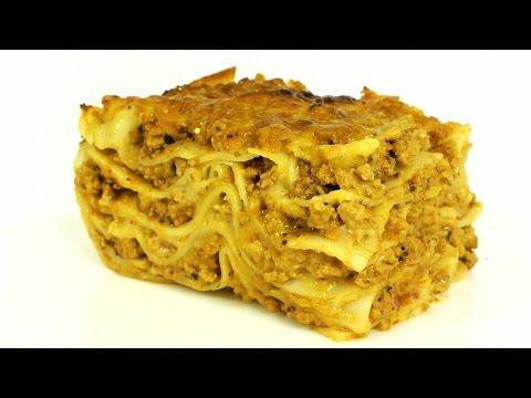 Лазанья. Подробный видео рецепт приготовления знаменитого итальянского блюда.