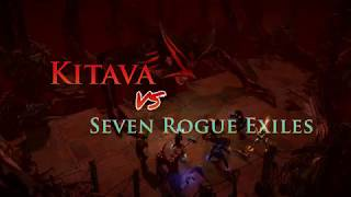 Kitava Vs. Seven Rogue Exiles: Who would win?