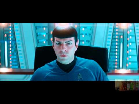 Star Trek Into Darkness - Spock Talks to Spock Prime / Melee on the Vengeance