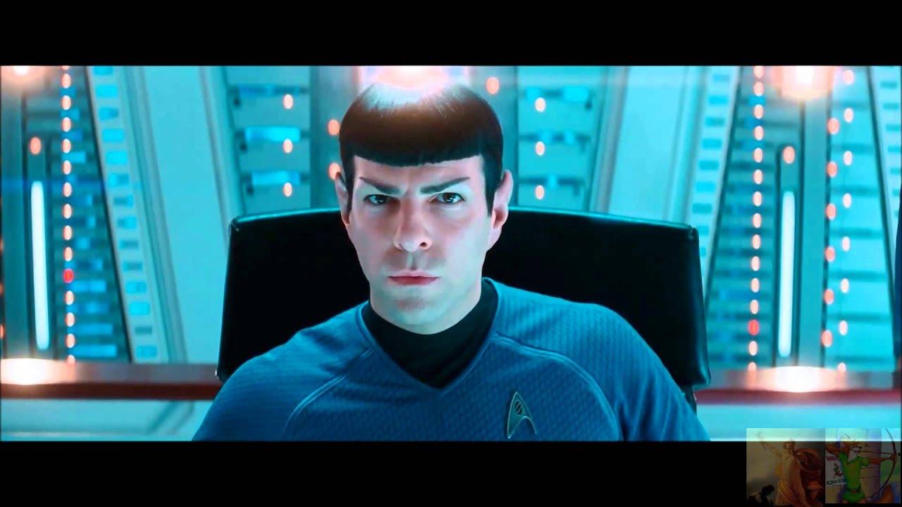 Star Trek Into Darkness - Spock Talks to Spock Prime ...