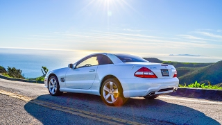 Mercedes SL550 Alexandra Edit | Content Creation Sessions 1