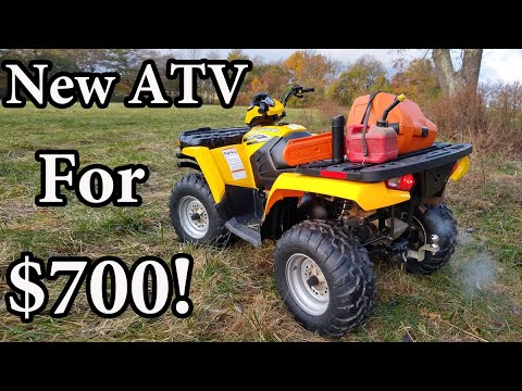 How I Bought A Practically New 4x4 ATV For Only $700!