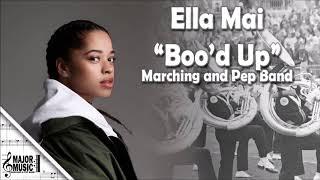 """""""Boo'd Up"""" Ella Mai Marching/Pep Band Sheet Music Arrangement Video"""