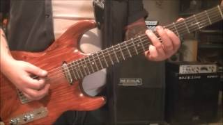 How to play Big Gun by ACDC on guitar by Mike Gross