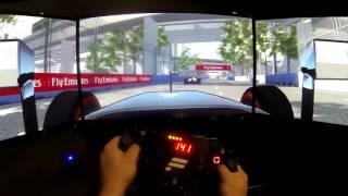 F1 2015 Mod - Mclaren Honda MP4-30 @ Marina Bay Singapore GP - Fanatec ClubSport Wheel