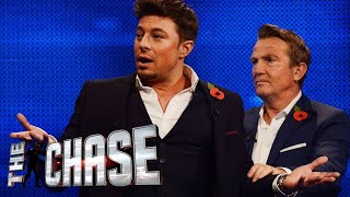 duncan james takes the highest offer ever   the celebrity chase
