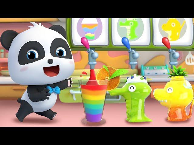 虹色ジュースはいかがですか | お店屋さんごっこ | 赤ちゃんが喜ぶ歌 | 子供の歌 | 童謡 | アニメ | 動画 | ベビーバス| BabyBus