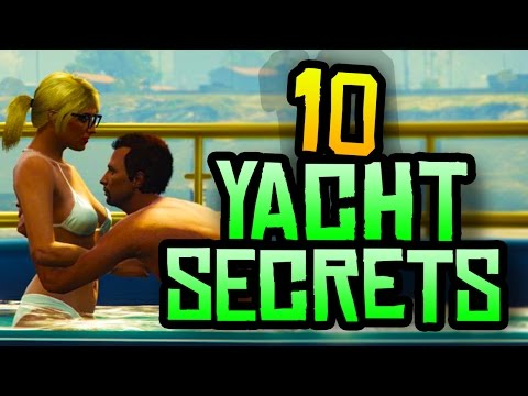GTA 5 - 10 Secret & Hidden Yacht Features You NEED to Know in GTA 5 Online!