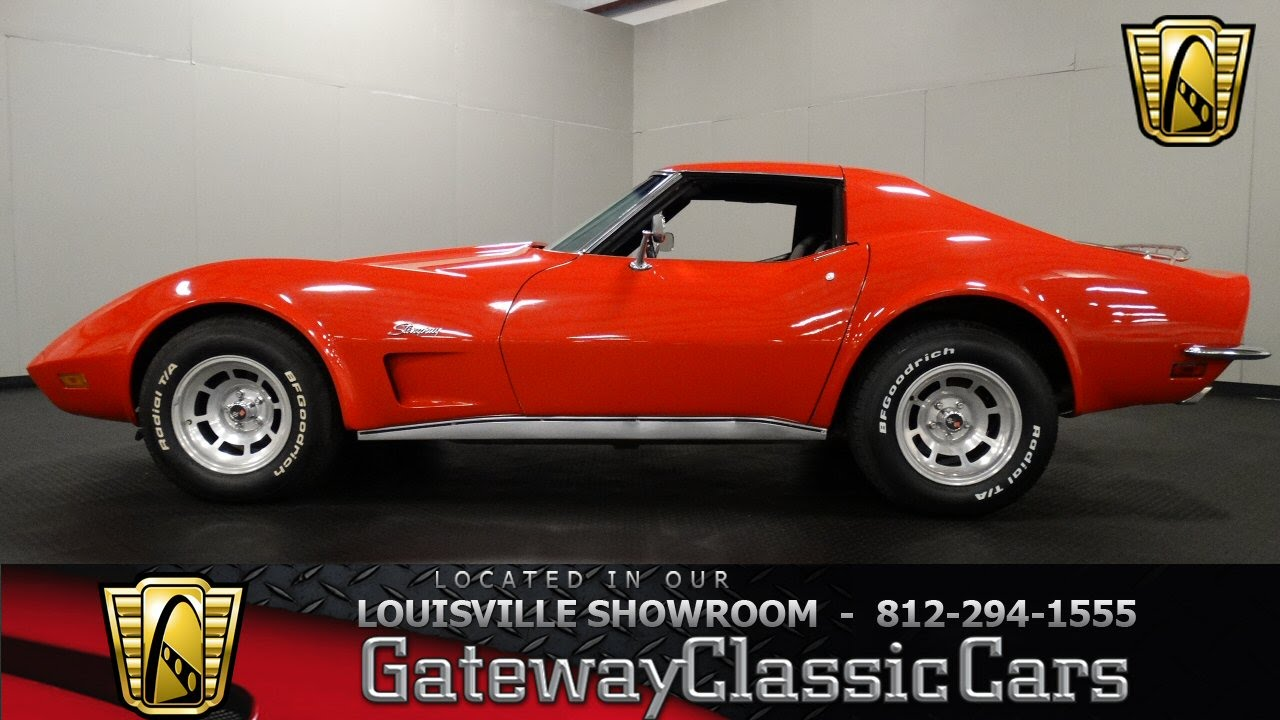 Picture of 1973 chevrolet corvette coupe exterior - 1973 Chevrolet Corvette Louisville Showroom Stock 1077
