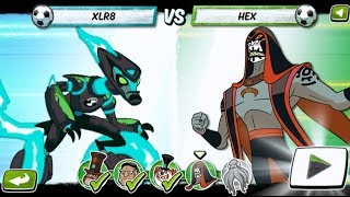 Ben 10 Game - Penalty Power XLR8 (Cartoon Network Games)