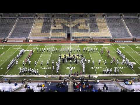 Troy Colt Marching Band at Big House Invitational, University of Michigan Stadium, 10/18/2014