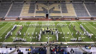 Troy Colt Marching Band at Big House Invitational, University of Michigan Stadium, 10/18/2014