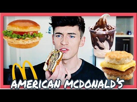 British Guy Trying American Mcdonald's
