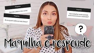 MAQUILHA E RESPONDE: Faculdade, Futuro, Como gravo os vídeos | Mariana Ribeiro