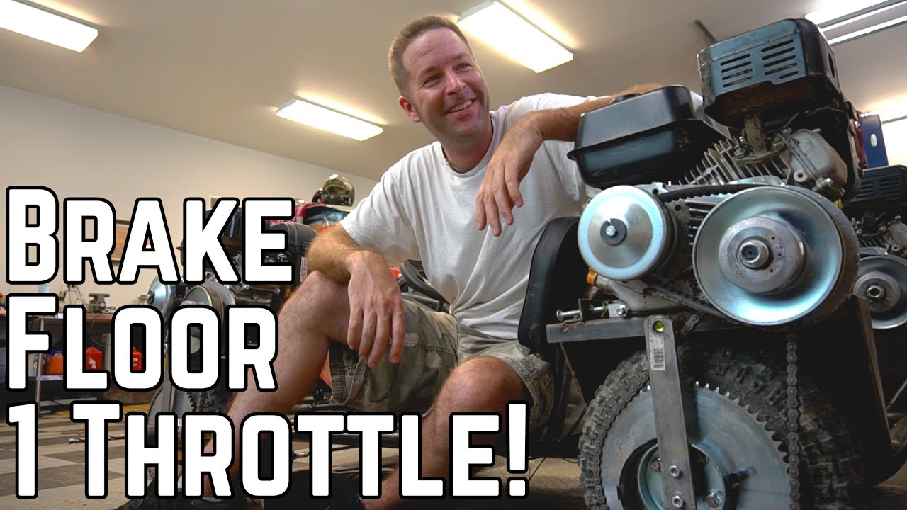 Four Wheel Drive, One Wheel Stop: AWD Kart Build