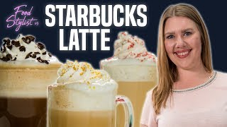 Food Stylist Vs Starbucks | How to Style a Latte for Photo | Well Done