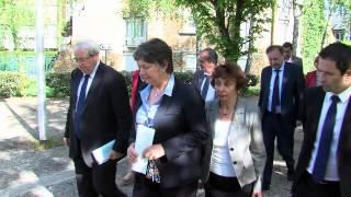 Société : Jean-Paul Huchon en visite au lycée de la Plaine de Neauphle