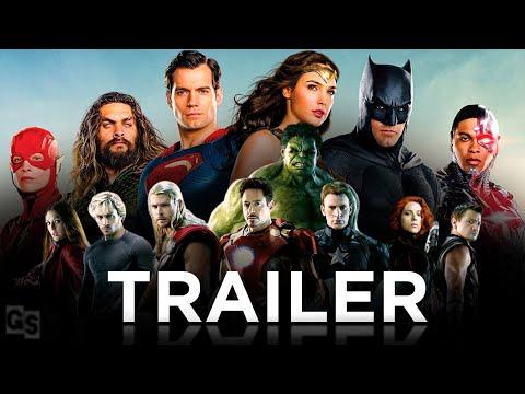 MARVEL Vs DC   Epic Fan-Made Trailer