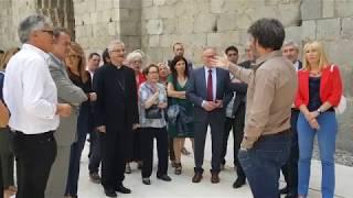 Acte d'inauguració de les obres de restauració de la Catedral de Sta. Maria d'Urgell