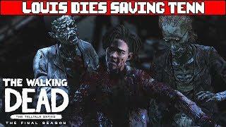 Louis Dies Saving Tenn - THE WALKING DEAD SEASON 4 EPISODE 4