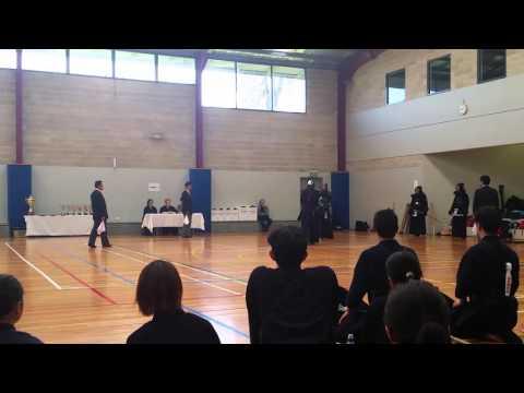 Yoshiyuki Goya Kendo 2015 NSW State Founder's Cup 2