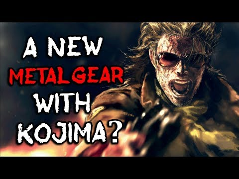 A NEW Metal Gear Solid Game with Hideo Kojima TEASED?!  EVERYTHING YOU NEED TO KNOW!