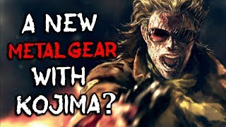 A NEW Metal Gear Solid Game with Hideo Kojima TEASED?! - EVERYTHING YOU NEED TO KNOW!