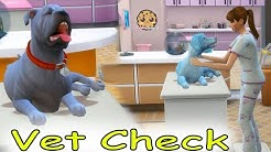 Vet Pets ! Dogs & Cats Care Medical Hospital Let's Play Sims 4 Cookie Swirl C