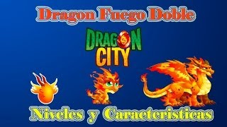 Dragon Fuego Doble De Dragon City