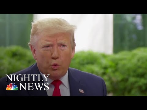 Trump: Decision To Call Off Attack On Iran: 'I Didn't Think It Was Proportionate' | NBC Nightly News