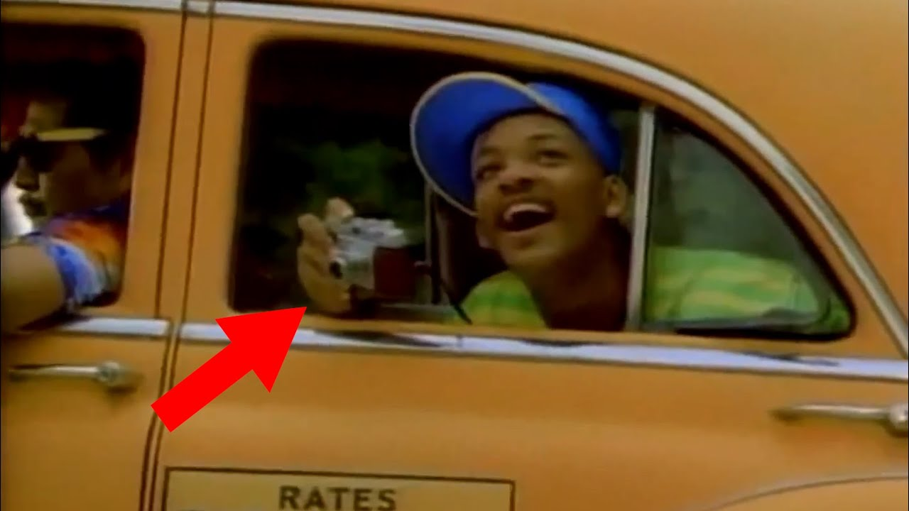 The Film Camera used in the Fresh Prince Of Bel Air