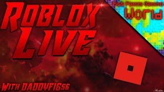 Roblox samedi! Roblox - France diffusion en direct #51 Jouer avec les téléspectateurs!