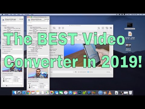 The BEST FREE video converter for iPhone, iPad and MacBook