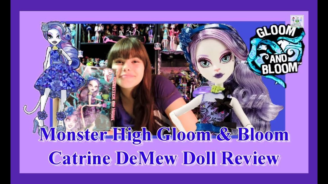 Catrine demew popular catrine demew doll buy cheap catrine demew doll - Monster High Gloom And Bloom Catrine Demew Doll Review