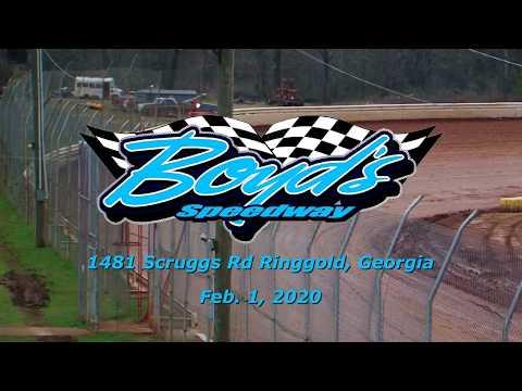 Hobby @ Boyds Speedway Cabin Fever Feb  1 , 2020