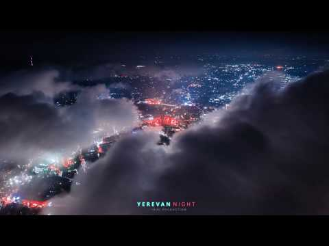 Yerevan Night. Cloudy